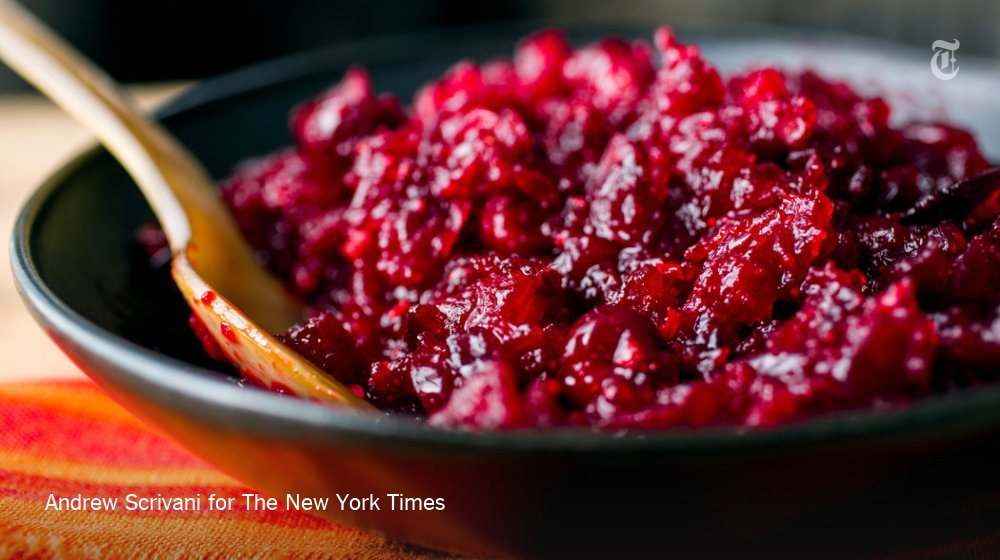 Cranberry sauce is one of the first things you can cross off your Thanksgiving list today