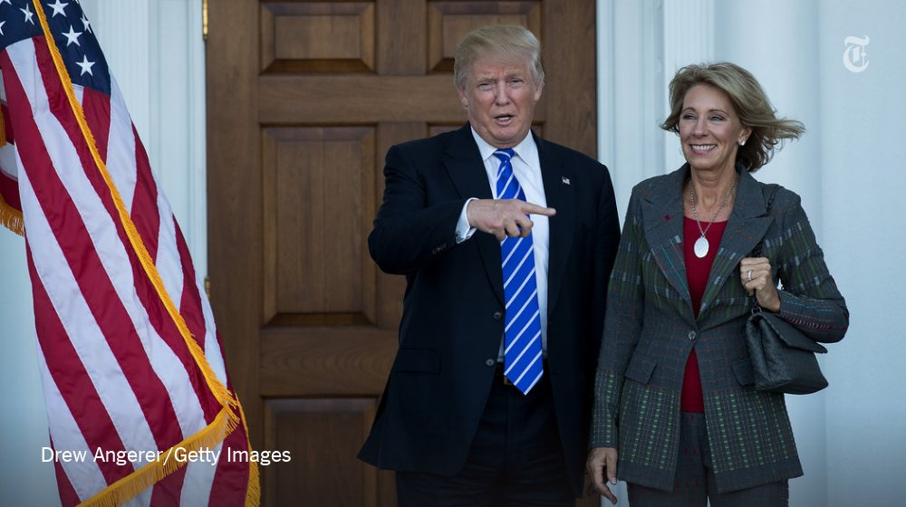 Why Donald Trump's education pick would face barriers for vouchers