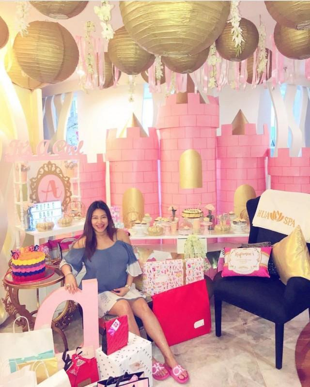 In photos: rufa mae quinto throws princess-themed baby shower ...