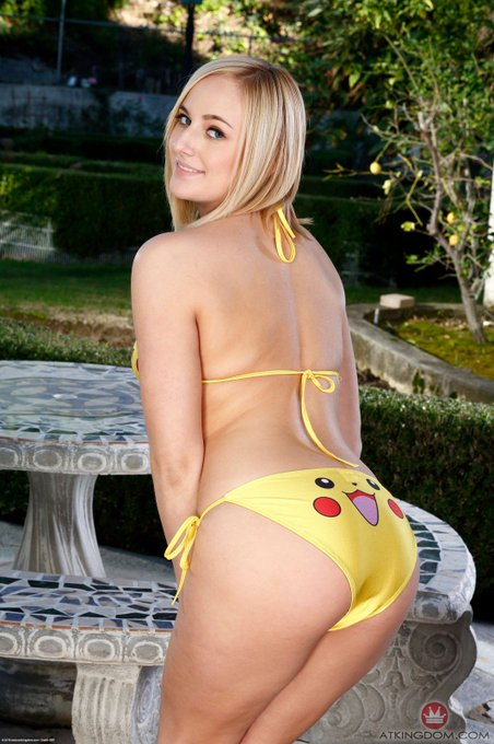 I am so in love with this photoset in my Pikachu bikini, @ATK_Models! https://t.co/FTG1FeXcU9