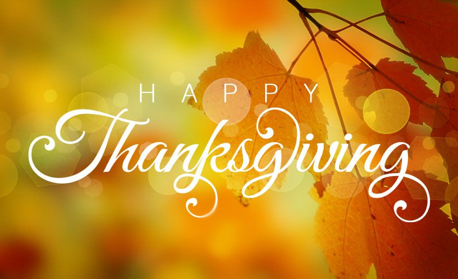 Happy Thanksgiving! Wishing you a wonderful holiday with your family and friends! https://t.co/MApsgL1QuX