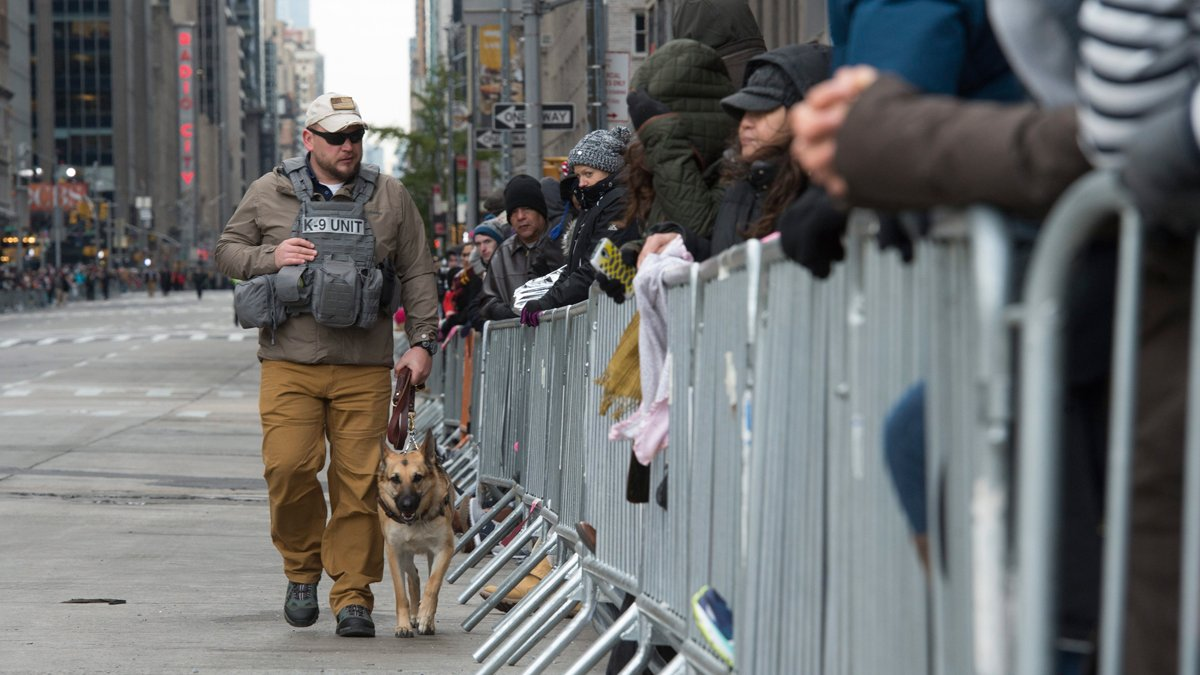 Macy's Thanksgiving Day parade goes off without a hitch amid tight security in NYC