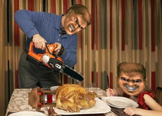 Happy Thanksgiving! (Doom-style) https://t.co/1aLGhqLISU