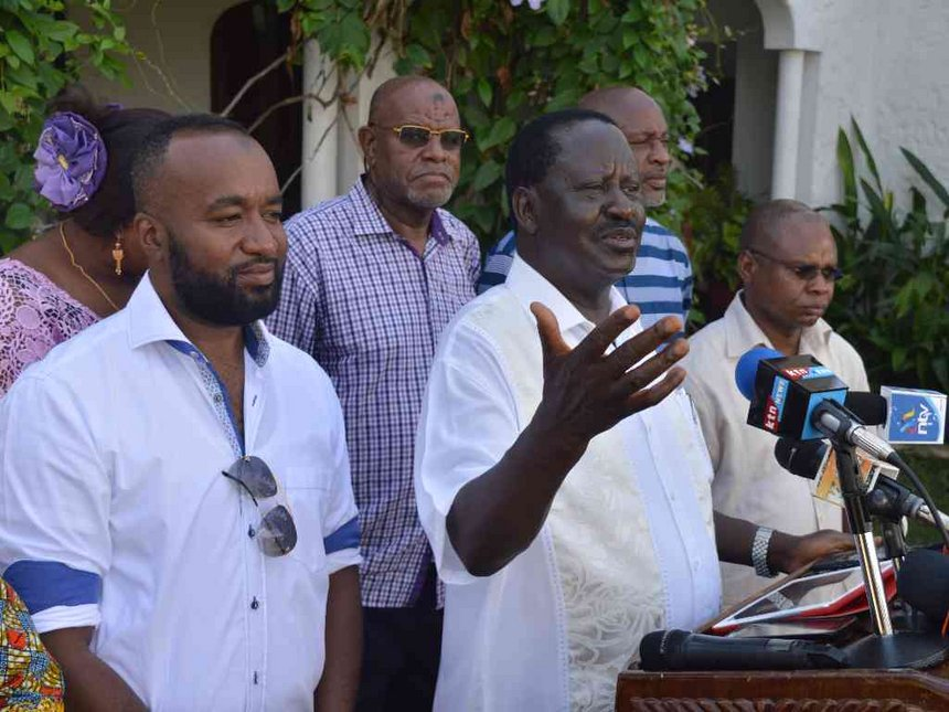 Governors in county corruption probes not to blame, Raila says