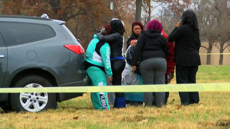 Shooting at annual Thanksgiving flag football game leaves 2 dead.