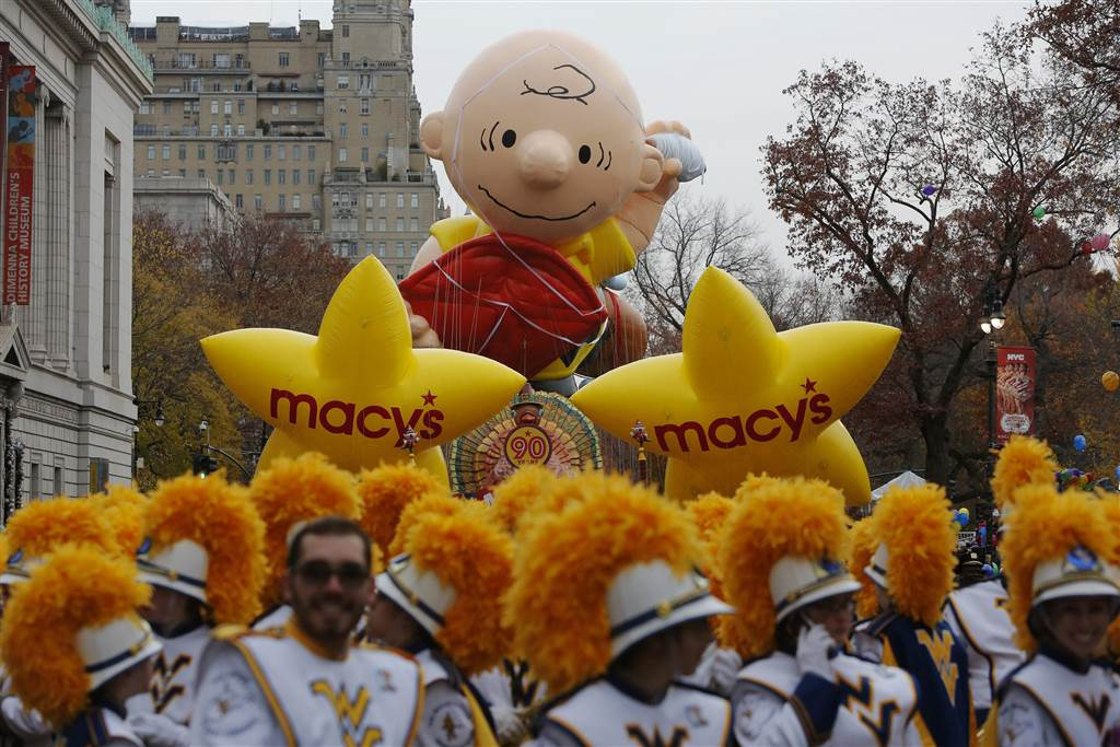 Gallery: 90th Macy's Thanksgiving Day Parade floats through NYC