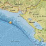 Strong quake detected off Central America's Pacific Coast