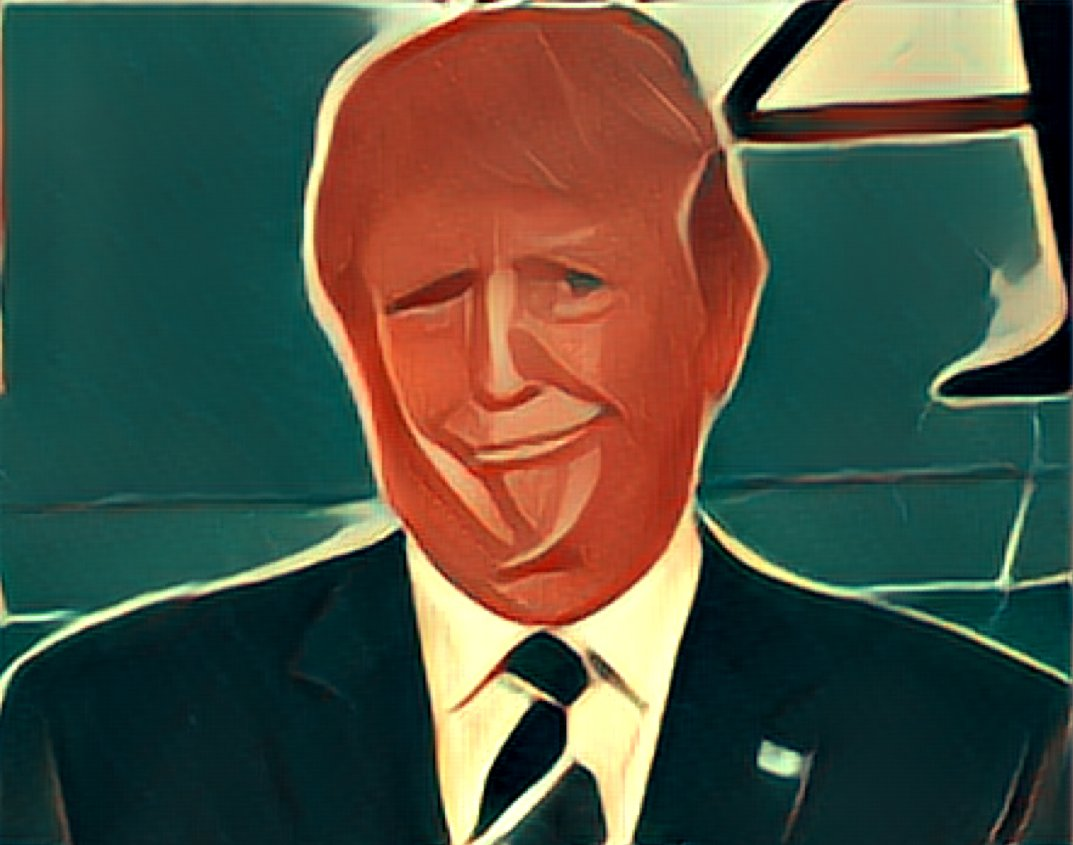 @Green_Footballs here, PRISMAfied for his official White House portrait. https://t.co/3RY8vBKf52