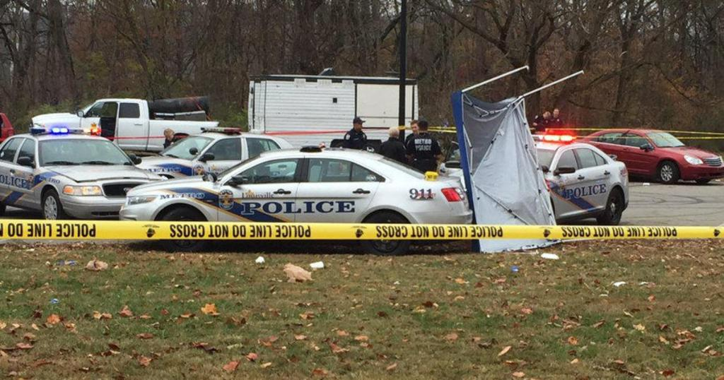 Louisville shooting kills at least two during annual football tournament on Thanksgiving Day