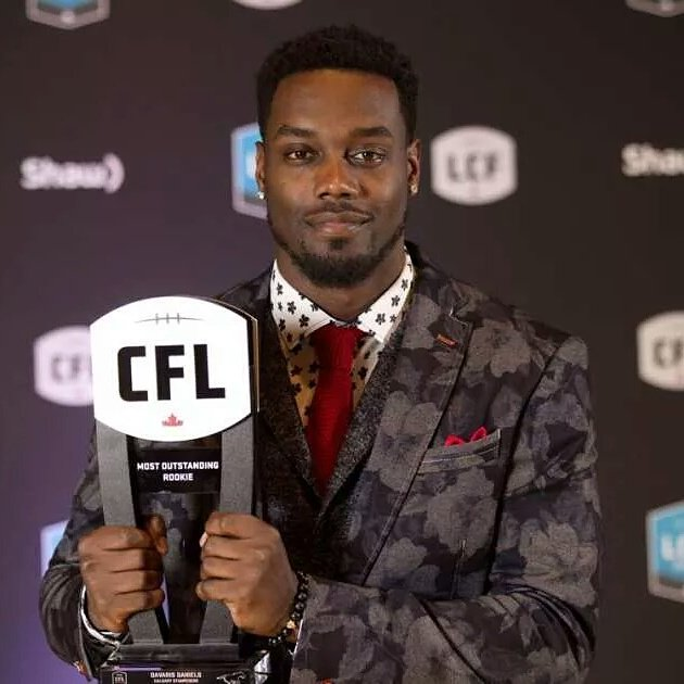 CFL Rookie Of The Year @SincerelyToot https://t.co/Jd9fcGZ528