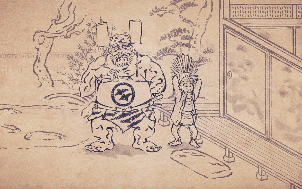 このあと夜7時55分は【戦国鳥獣戯画~甲~】第7話「草履の秘密」姉川の戦いに向かうため戦の準備を進めていた豊臣秀吉と柴田