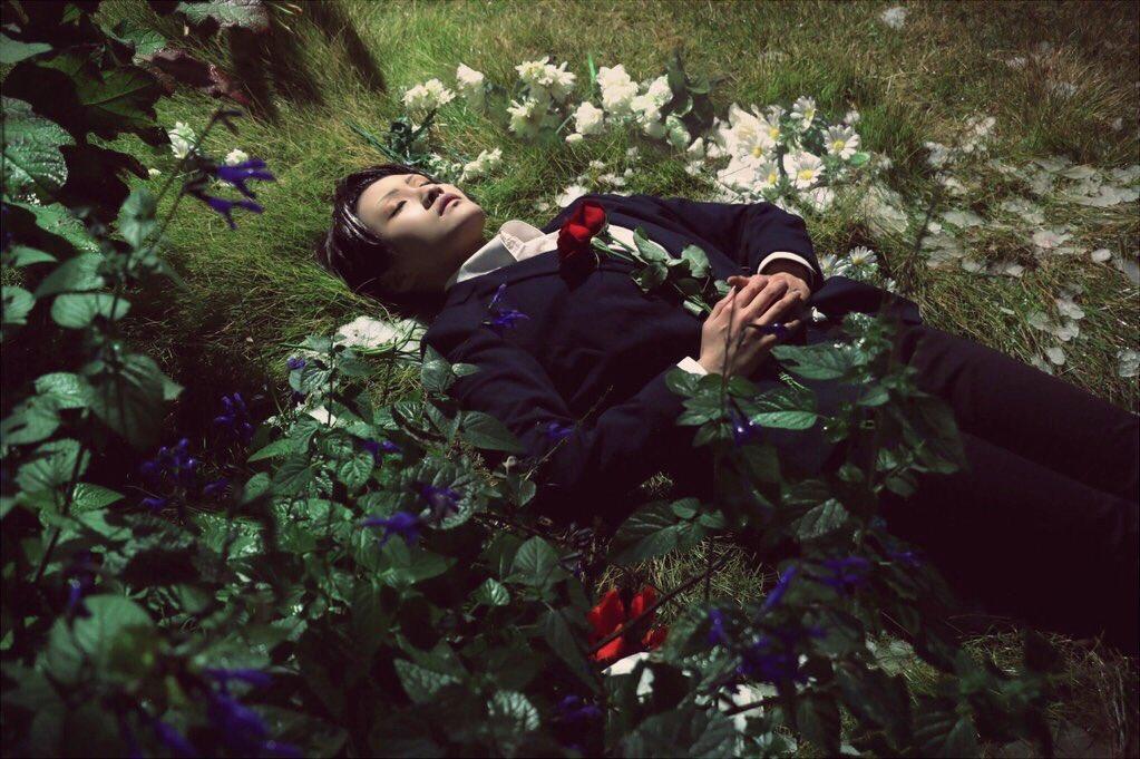 【ジョーカー・ゲーム/コスプレ写真】棺ミレーのオフィーリア果たして彼女は生きているのか、死んでいるのか。真木克彦/(三好