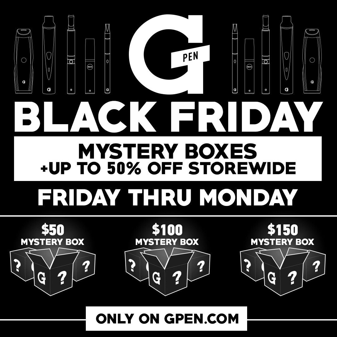 A mystery box for us stoners. @GPen https://t.co/HXk06QlNFy https://t.co/mvHJohxXoS