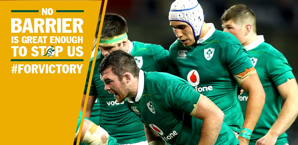 We'll show the Aussies what reef means in Ireland. #ForVictory #IREvAUS https://t.co/hDN3ZZm22S