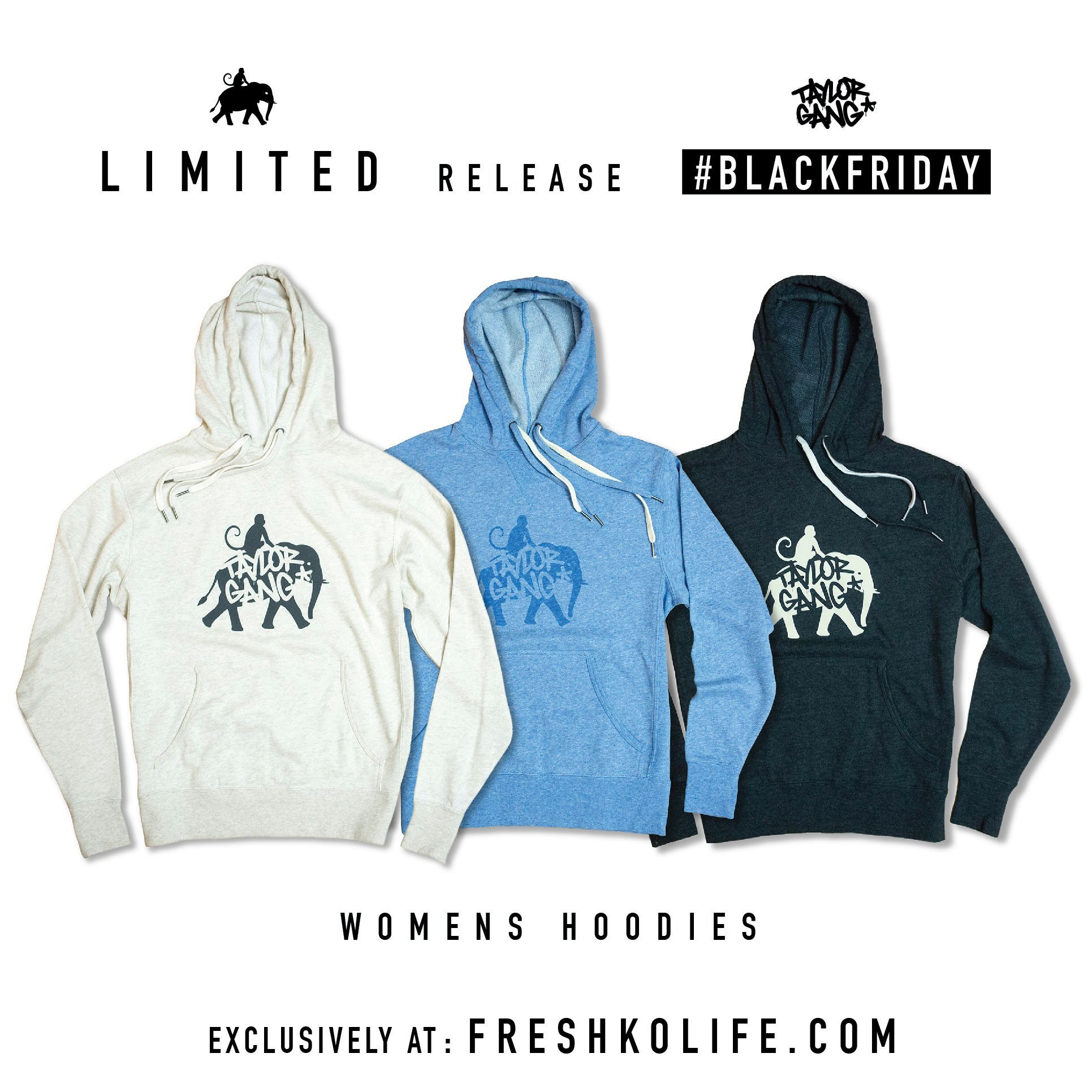 NEW Women's Hoodies - Freshko X Taylor Gang Collab Hoodies - Only at https://t.co/p1g8qhikm3 https://t.co/dcduQt2tsd