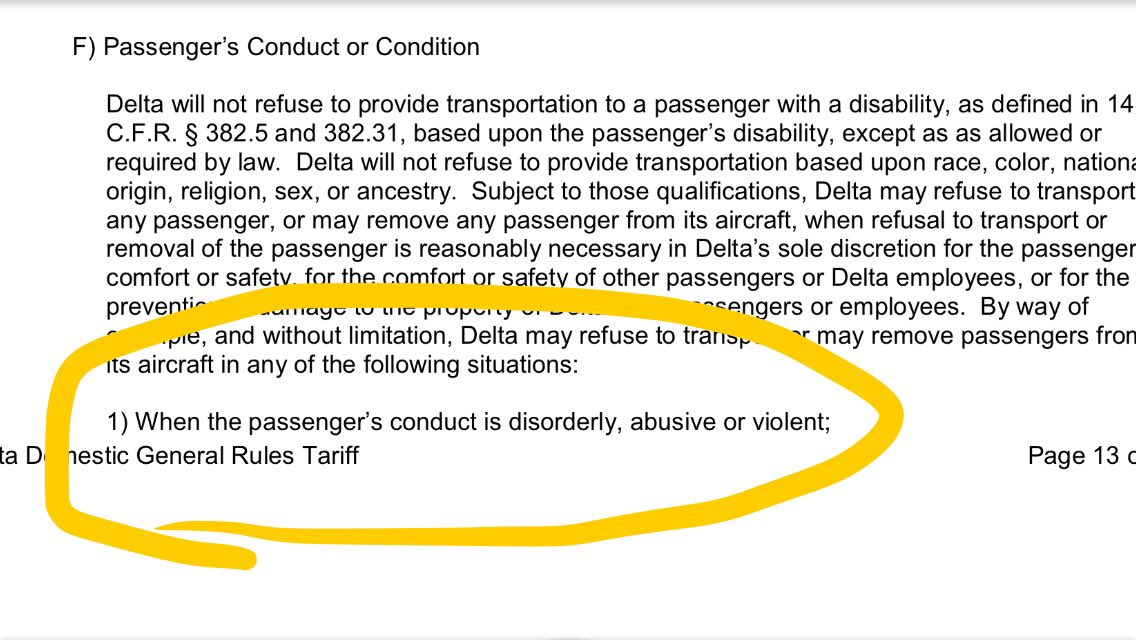 @yashar @Delta from you town carriage contract..that seems like rule 1 to me.. https://t.co/gCXRo6mMX8