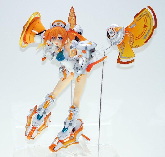 『新次元ゲイム ネプテューヌVⅡ』より「オレンジハート」が、初のスケールフィギュアとなってAMAKUNIより登場! メガ