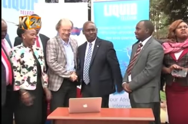 Liquid Telecom Partners with Kiambu County Government to install free WiFi in the County