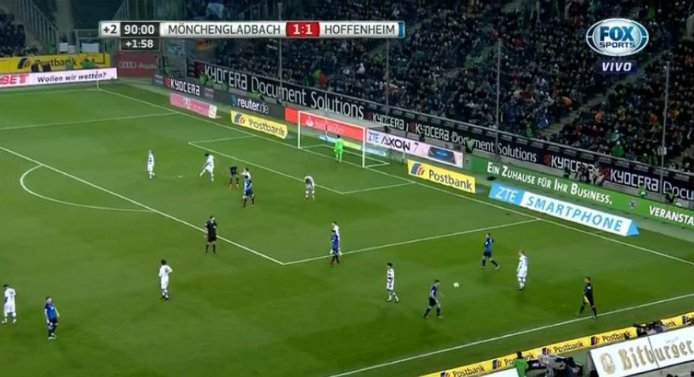 Final Borussia Mönchengladbach Y Tsg 1899 Hoffenheim Igualaron 1 1