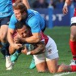 Tonga bring Italy down to earth