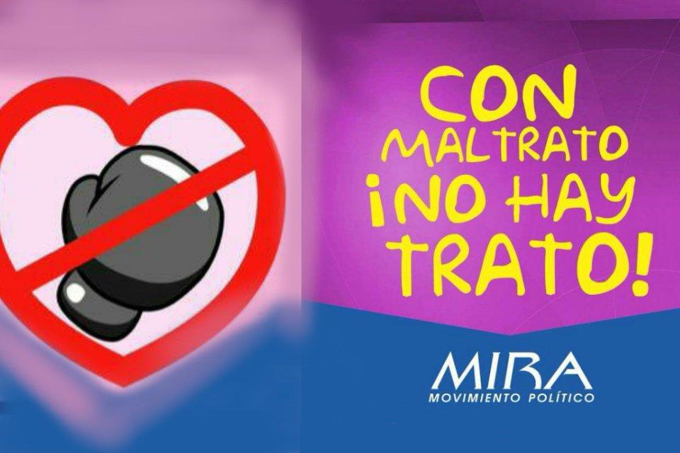 #ConMaltratoNoHayTrato https://t.co/XZlFnpILAR