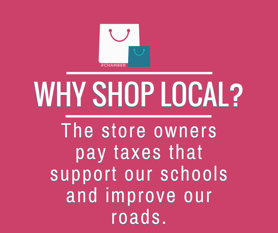 Why Shop Local? The store owners pay taxes that support our schools and improve our roads. https://t.co/dHjHir2cOf