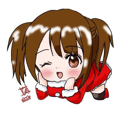 こんばんは(*´▽`*)かおたんサンタさん完成しましたΦ(*'ω'*) メリークリスマスかおたんゆうな!! #tamay