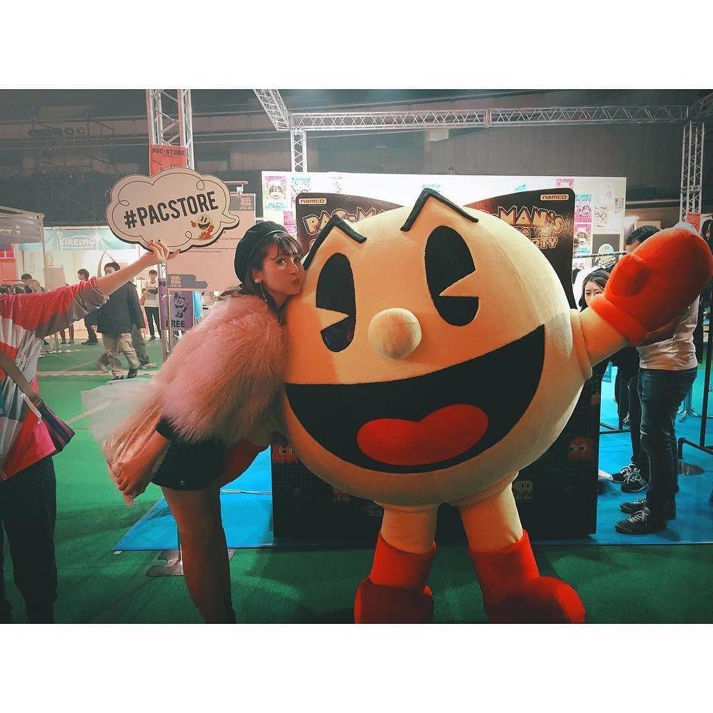 **#hiestagram #ひぃまにあ *#もしフェスにパックマンブースがあったよ~!!!*以前TVアニメ「パックワー