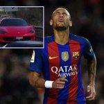 Neymar smashes Ferrari in road accident