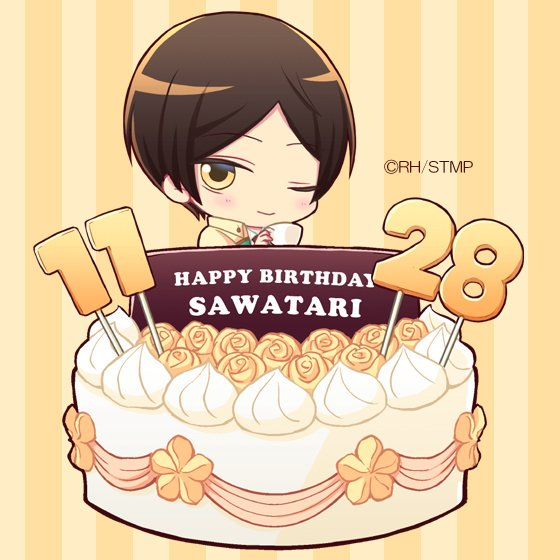 【HAPPY BIRTHDAY】本日11月28日は申渡栄吾のお誕生日★アオキタレン先生描きおろし「誕生日アイコン」「スマ