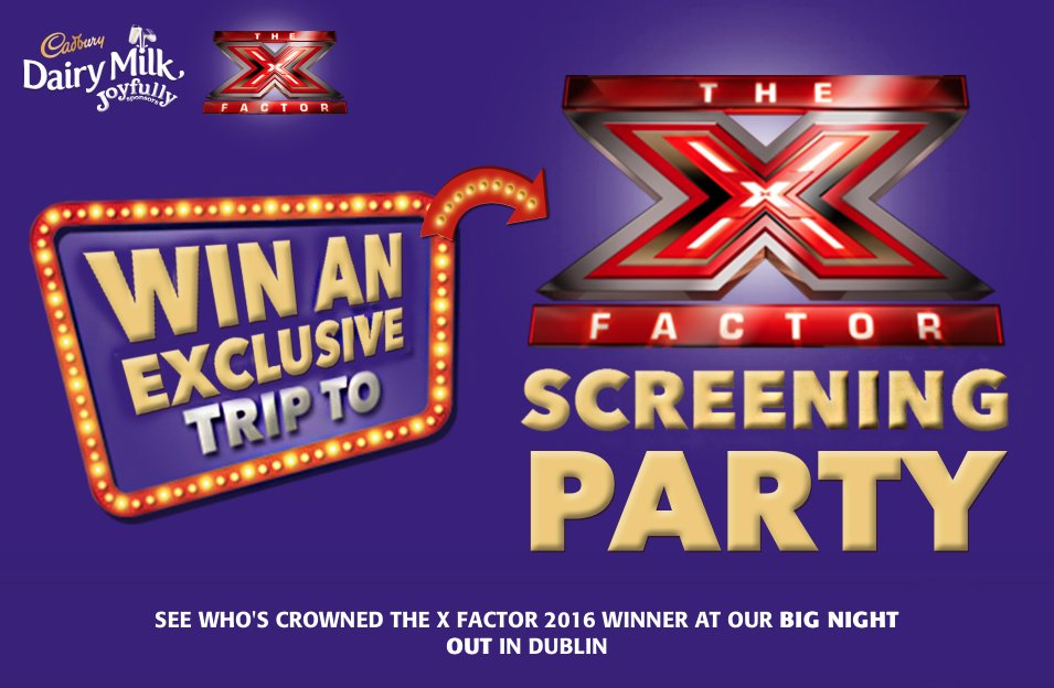 Win X-factor Tickets! Click to Enter: https://t.co/shfGbhmpkx https://t.co/Mk6JgFTvQW