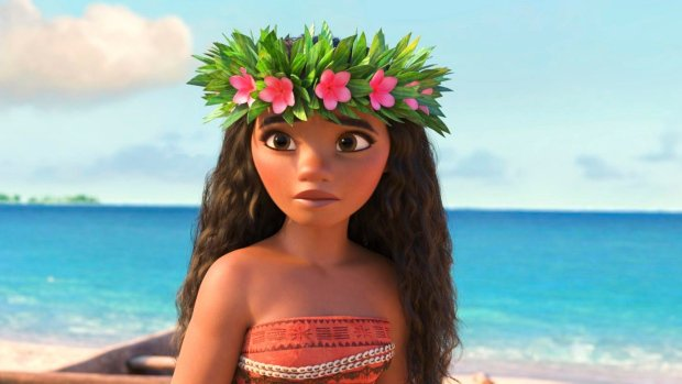 'Moana' cruises to second-highest Thanksgiving opening ever