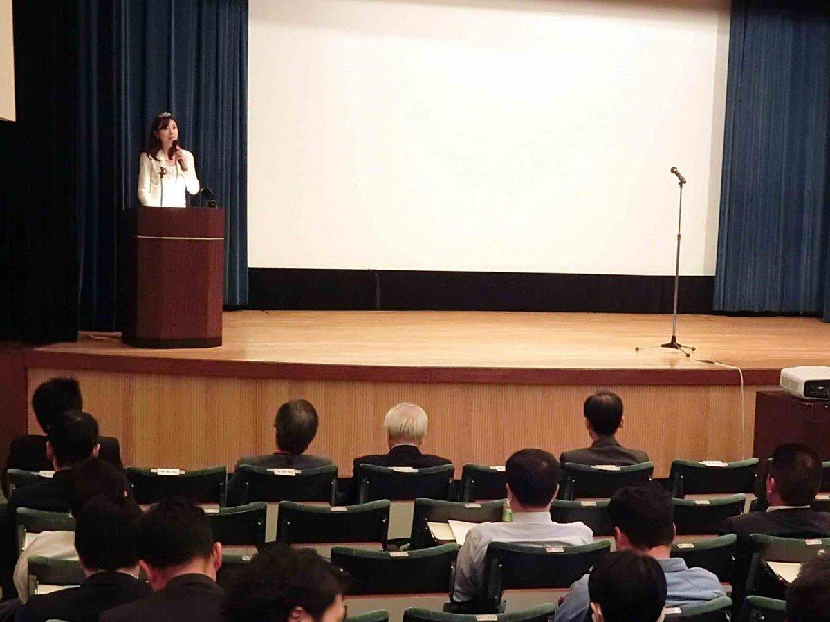下水道管路管理セミナーと、管路管理技術発表会が開催され、両方の司会を水の天使の須藤櫻子さんが担当。ますます重要視される下