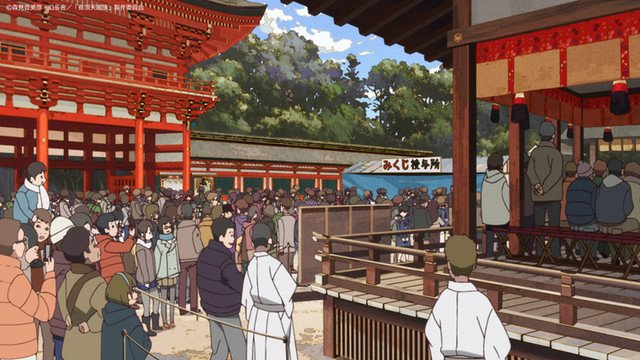 アニメ「有頂天家族2」櫻井孝宏と京都・下鴨神社で成功祈願!新キャストも登壇  #有頂天