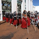 'The unacceptable has become acceptable': NT domestic violence campaign reaches Parliament House