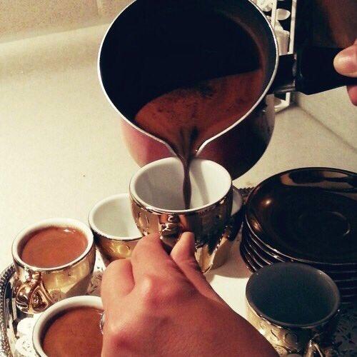 القهوه التركيه