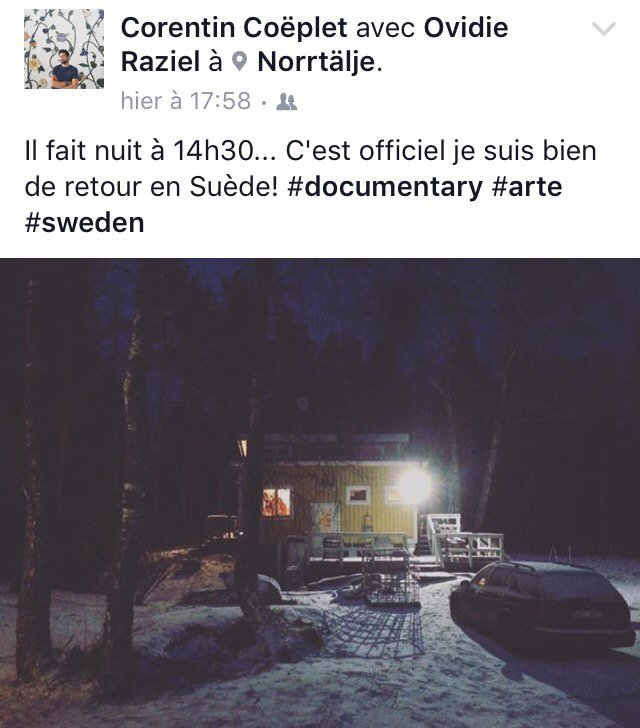 In the heart of the wood, in the closed forest... #Suède #documentaire #Arte