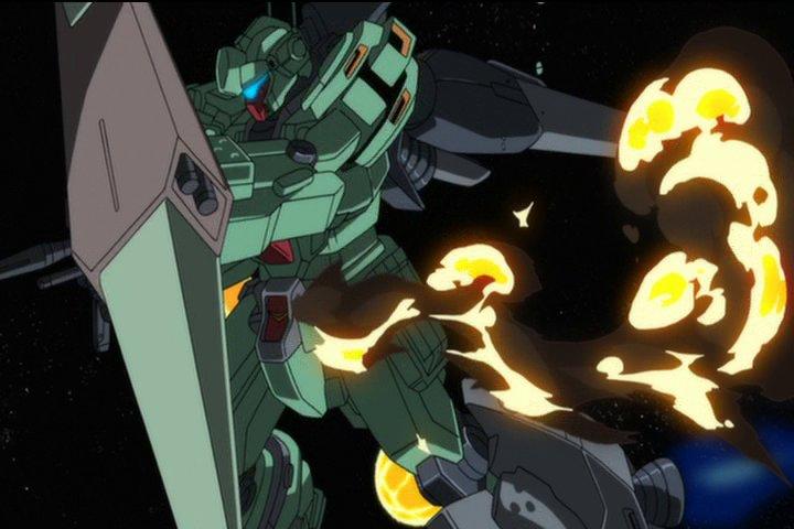 #細かすぎて伝わらないガンダムの好きなシーン『機動戦士ガンダムUC episode7』プロト・スタークジェガン(3連ミサ