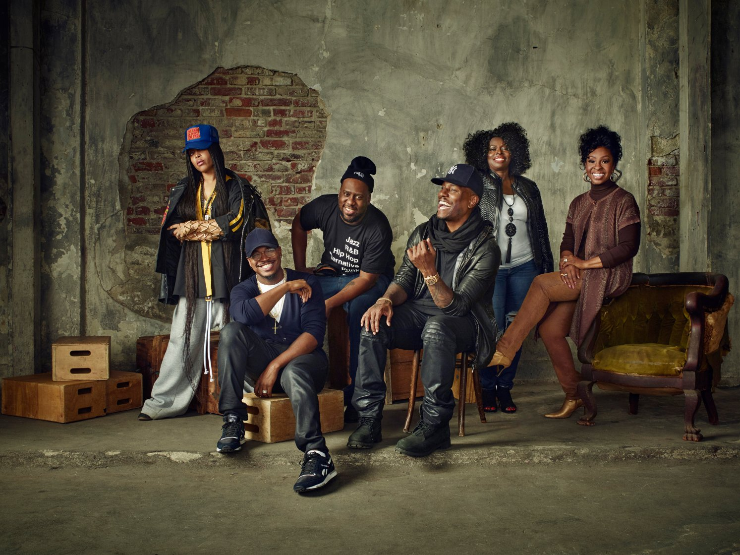Watch the 'Soul Cypher' with @fatbellybella, @NeYoCompound, @Tyrese, @MsGladysKnight: https://t.co/yaQLRclD2p https://t.co/iyTkhQaC5Y