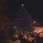 Annual Christmas tree lighting in West Warwick