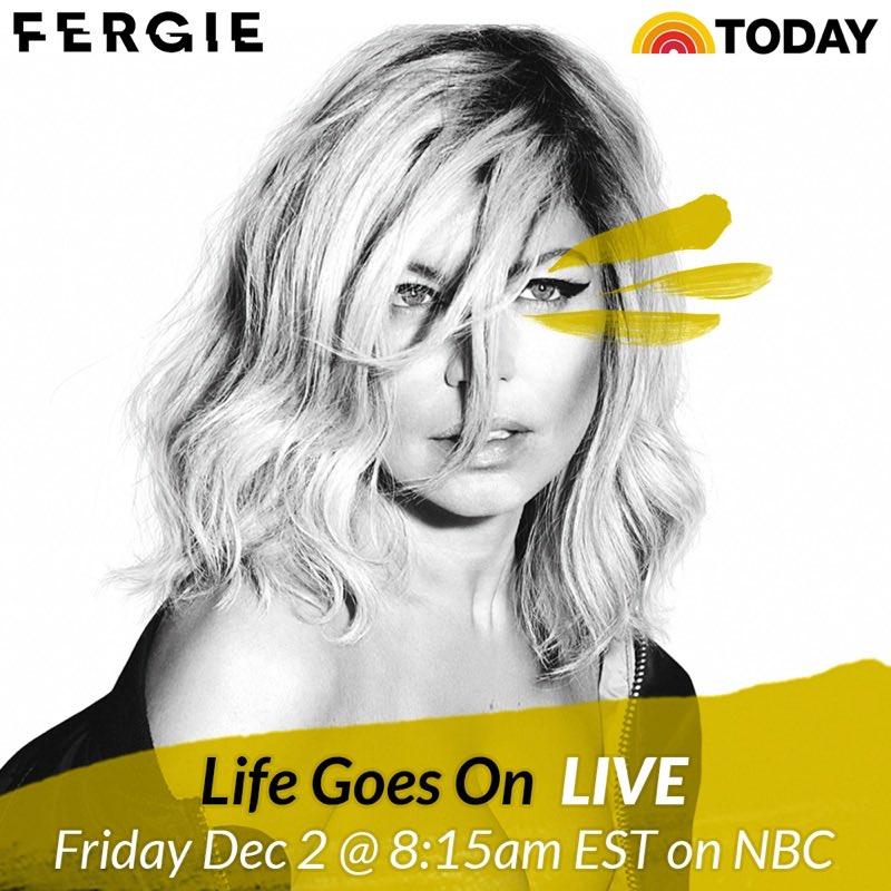 #LifeGoesOn FRIDAY @TODAYshow ???????? https://t.co/RaDa30W2dk