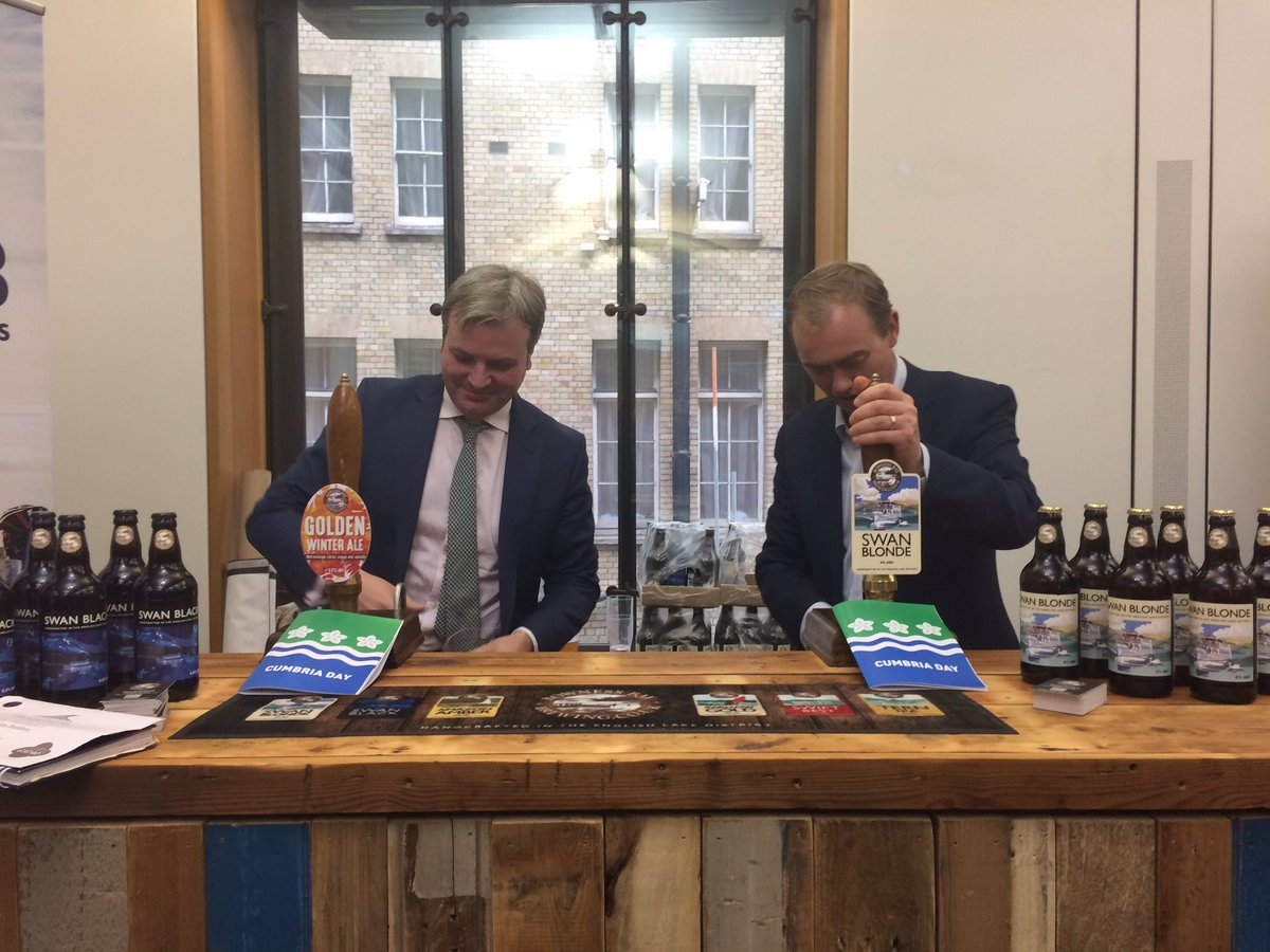 RT @jreedmp: Pulling pints with @timfarron at #CumbriaDay https://t.co/QVI7w2uMMF