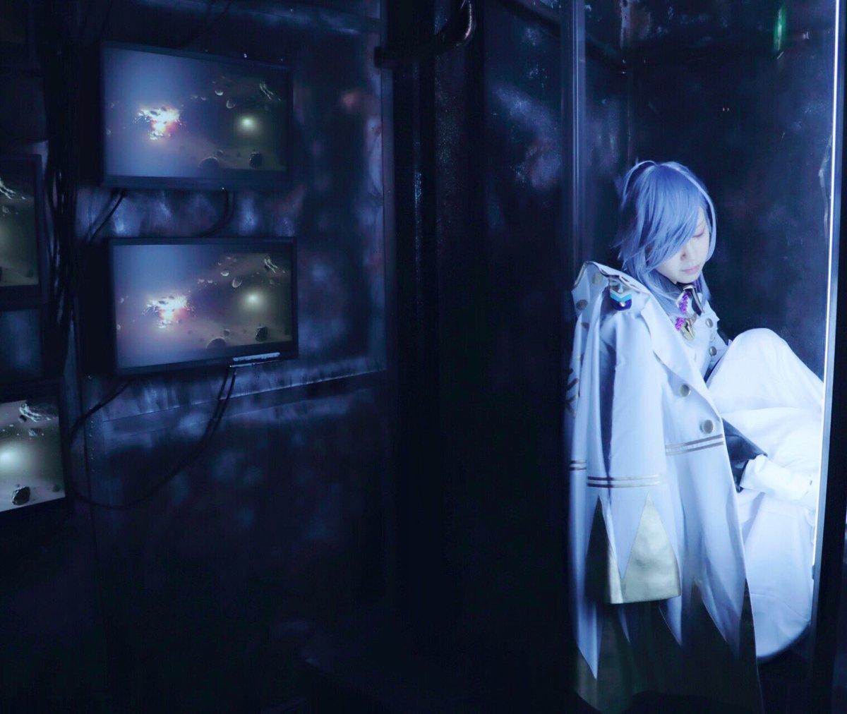 """【コスプレ】幕末Rock 沖田""""カプセルの中で見た夢は果たして幸せだったか""""完全に遊びました。photo あんずさん"""