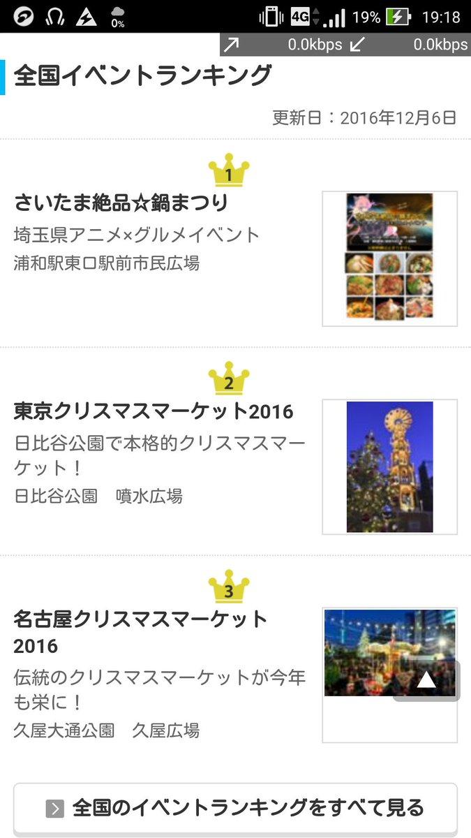 おおおおお!「さいたま絶品☆鍋まつり~さいたま市アニメ×グルメイベント~」がWalkerPlusの全国ランキングで一位に