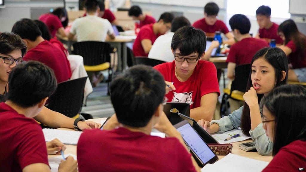 Singapore tops table in global education rankings - Pisa tests