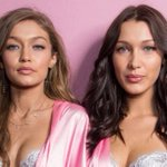 Gigi Hadid beats sister Bella to Model of the Year title at British Fashion Awards as she stuns in silver