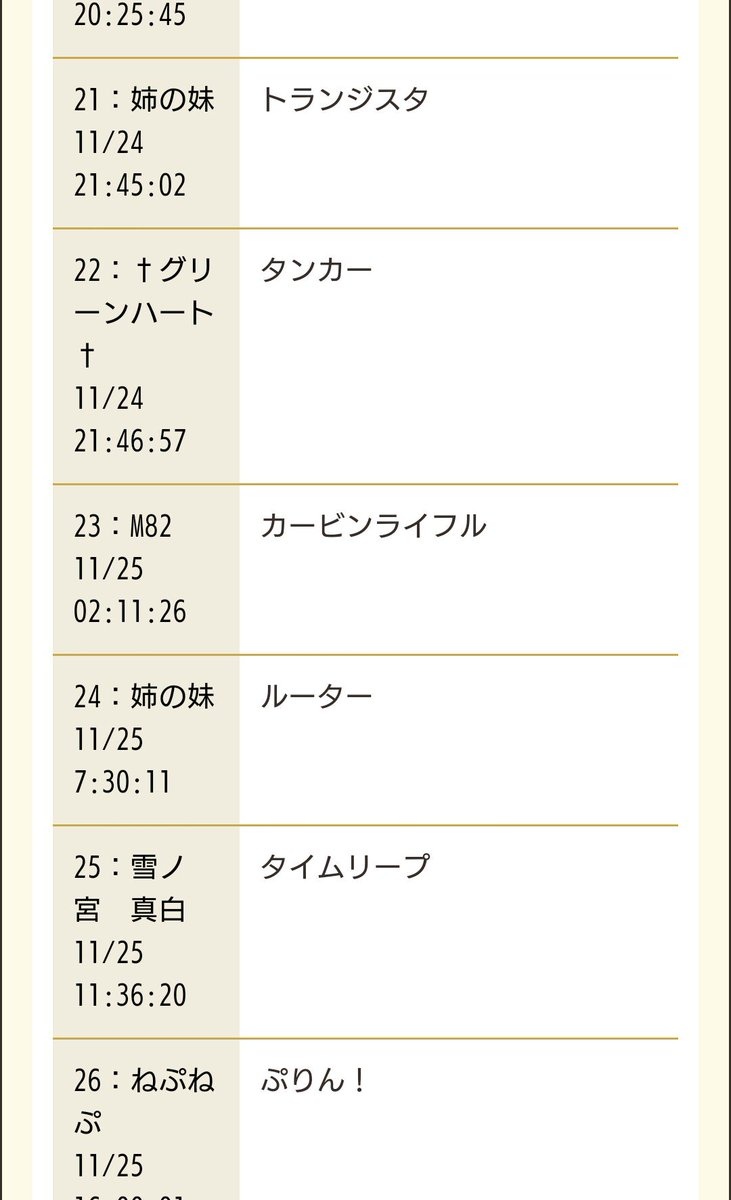 四女神オンライン公式サイトのしりとりpart2ねぷねぷ「ぷりん!」ん、ん、んンドュール!次「ル」ね!ww#四女神オンライ