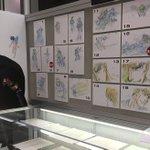 ベルセルク展@東京アニメセンターでは原画や等身大ドラゴンころしなどがご覧いただけるだけでなくメッセージボードも設置中です