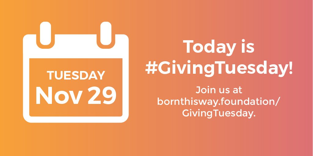 Happy #GivingTuesday! Help us make a better, braver, kinder world by donating here: https://t.co/rqPctQkjAW https://t.co/E6TtoJzAfg