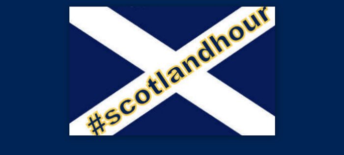 Who's joining us for #scotlandhour Wed 30 Nov, 9-10pm to celebrate #ourstandrewsday ? https://t.co/UJSltMOTku https://t.co/URdC7cnxoI